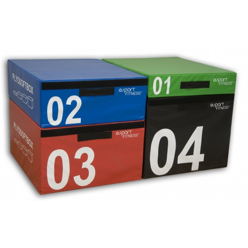 NEW eSPORT PREMIUM PLYOSOFT BOX SET OF 4 SIZES