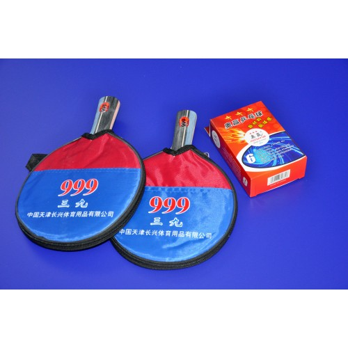 eSPORT	2 Professional two-sided rackets with protective cover