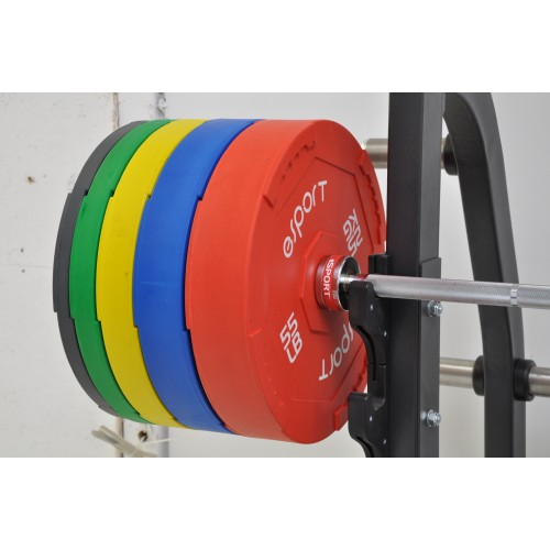 PREMIUM QUALITY SUPER OLYMPIC INTERLOCKING BUMPER PLATES SET OF 10 PAIRS