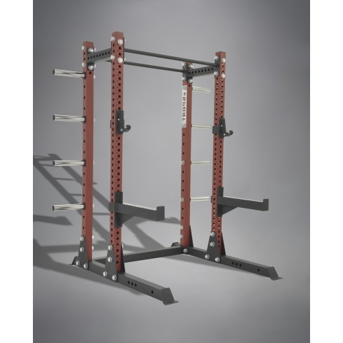 "IRON BULL 93"" HIGHT Expansion BACK SUPPORT MODULE With 8 Storage Plate Holders"