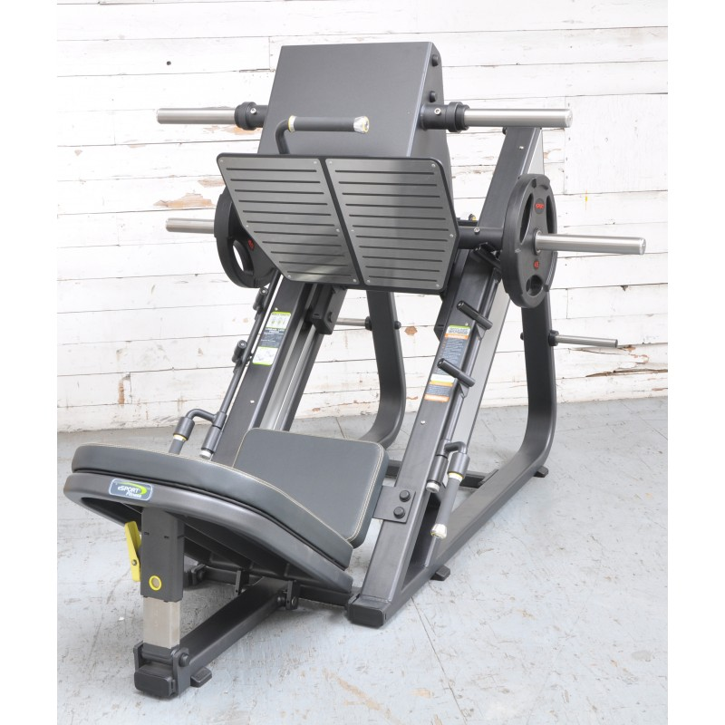 NEW eSPORT ANGLED 45 ° LEG PRESS  BLACK