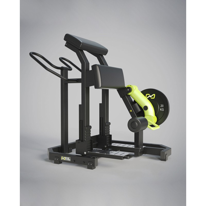 NEW STANDING PLATE LOADED INDEPENDENT LEG CURL