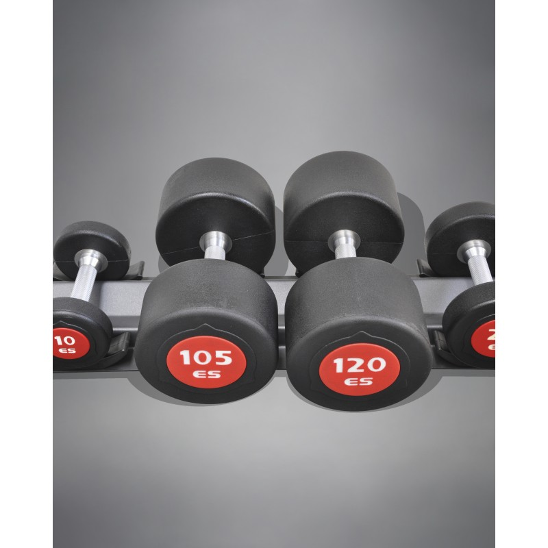 eSPORT (es) COMMERCIAL URETHANE DUMBBELLS SET 105lb-120lb
