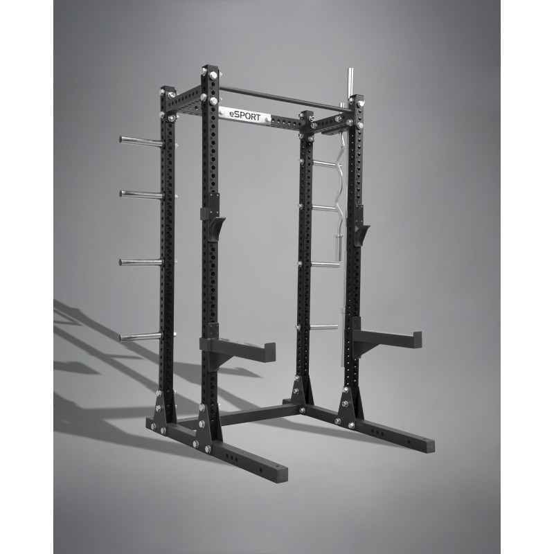 "SQUAT RACK IRON BULL 300  3"" x 3"" GAGE 11 (ALL BLACK)"