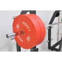 PREMIUM QUALITY SUPER OLYMPIC INTERLOCKING BUMPER PLATES 25Kg / 55 Lb PAIR