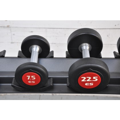 eS eSPORT UROTHEN 1/2 SIZE COMMERCIAL DUMBBELL SET OF 4 PAIRS