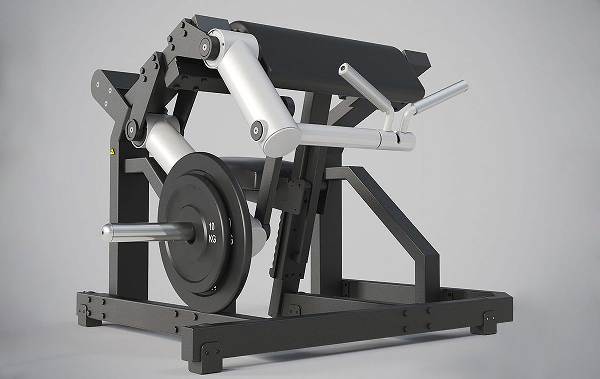 Selectorized gym equipment plate loaded chest leg press calgary